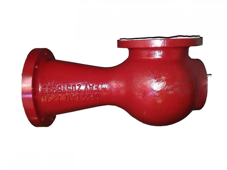 Cuerpo de Ventury del sistema de sulfuración