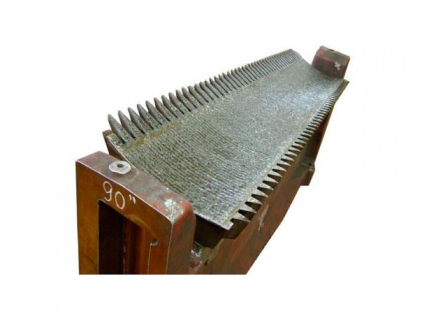 Bagaceira com metalização