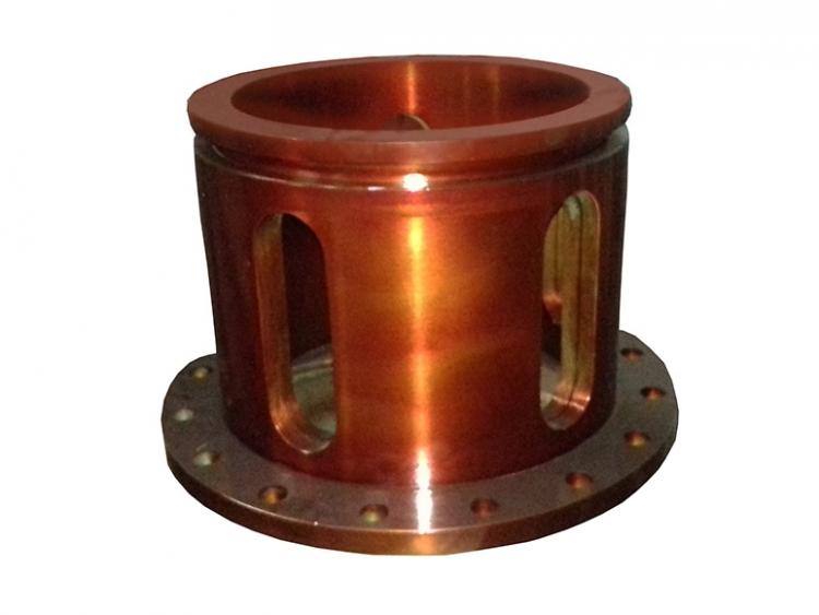 Registro de regulagem de entrada de ar do forno de queima de enxofre