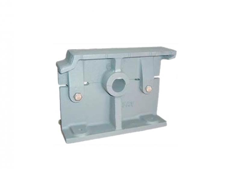 Single bearing for grilled boiler shaft